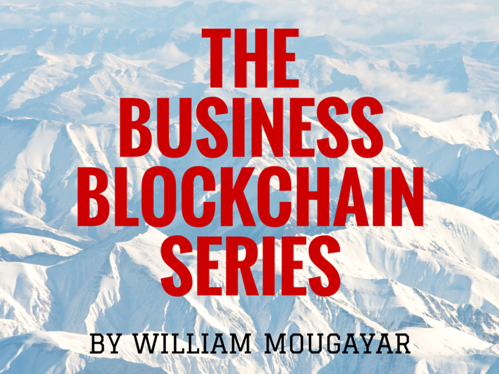 Business Blockchains