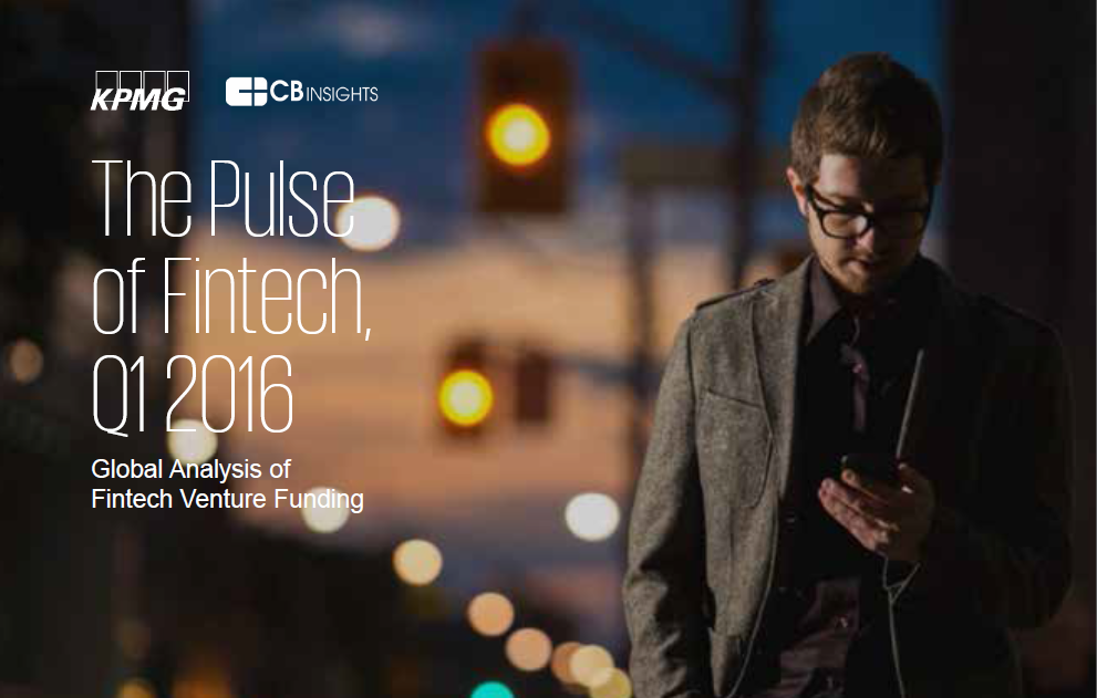 The Pulse of Fintech, Q1 Report