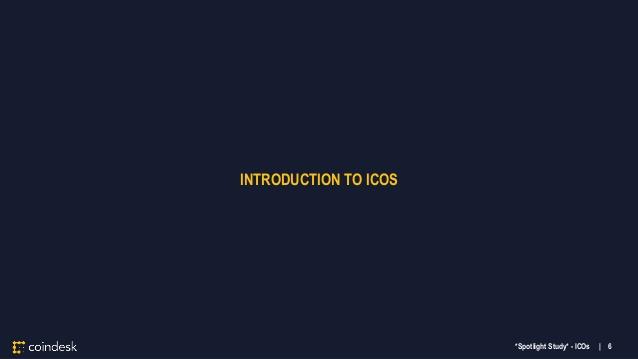 Coindesk Blockchain ICO